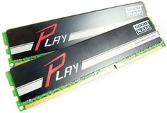 Модуль памяти DDR3 2x4GB/1866 GOODRAM Play Black (GY1866D364L9AS/8GDC)